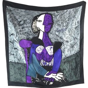 MOTHERS DAY! Picasso Print Large Square Scarf 36""